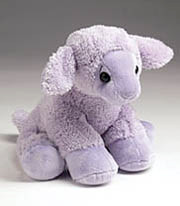 """Lovey"", the lavender lamb"