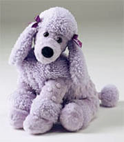 """Lulu"", the lavender poodle"
