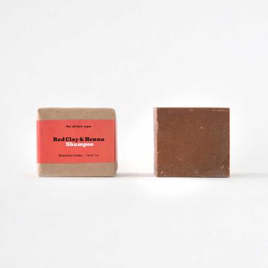 Red Clay & Henna Shampoo Bar