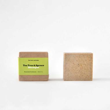 Tea Tree & Spruce Shampoo Bar