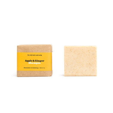 Apple & Ginger Shampoo Bar