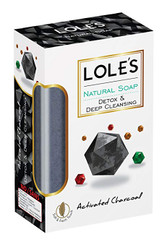Lole's Activated Charcoal Soap