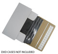 White Self Seal 1-4 DVDs Cardboard Box