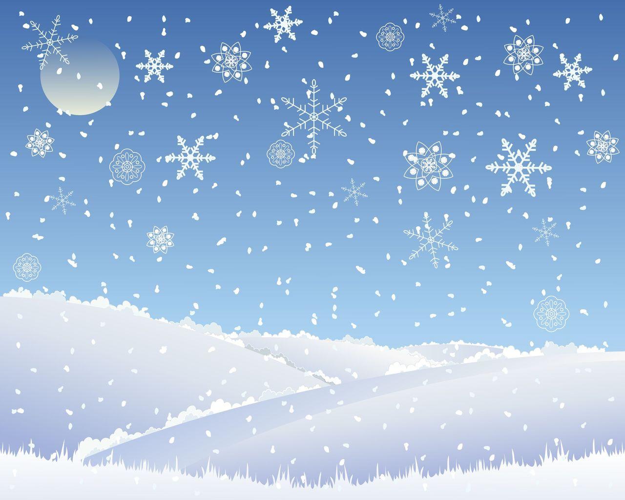Christmas Scene.Christmas Snowflake Photography Backdrop