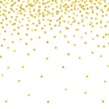 Gold Stars Photography Backdrop