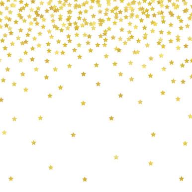 Gold Stars Photography Backdrop
