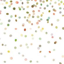 Falling polka dot photography backdrop
