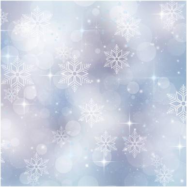 Bokeh snowflake photography backdrop