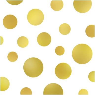 Large Gold Polka Dot photography backdrop