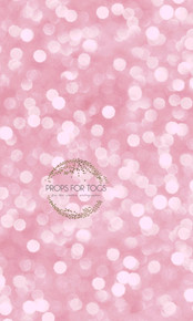 Pink bokeh photography backdrop