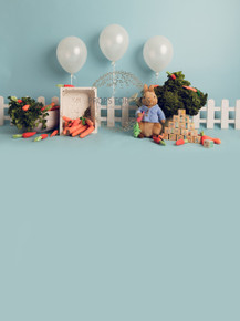 Designs by Honey Pie photography HPP_2371 .Peter rabbit photographers backdrops for  cake smash photoshoots