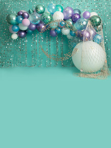 Designs by Honey Pie photography  - photographers mermaid 4124 backdrops for  cake smash