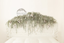 beautiful christmas white bed scene with silver stars, can be used all year around, it is stunning