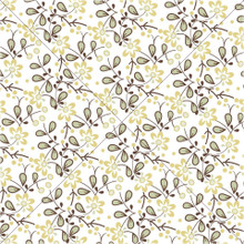 Retro Floral Print - Photography Backdrop