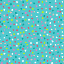 Colourful Stars Photography Backdrop
