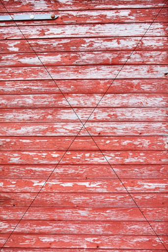 Red Distressed Photography Floor and Backdrop