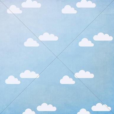 Blue Cloud Photo Backdrop