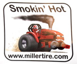 Smokin' Hot Red Decal