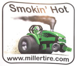 Smokin' Hot Green Decal