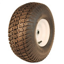 15x6.00-6 Rubber Master Turf 4 ply on Wheel