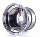 12x10 5-Hole Aluminum Wheel, 4/6 Offset