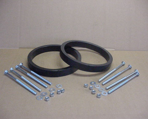Dual Wheel Spacer Kit For 12 Quot Garden Tractor Tires