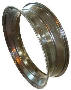 38x10 Deep Well Rim Unpainted M E Miller Tire