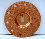 "4"" To-Air Tire Grinding Disc 46 Grit"