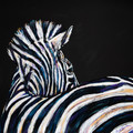 Wend Britton coasters - Zebra