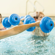 "Super Soft® 15 1/2"" Aquatic Dumbbells"
