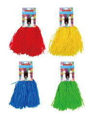 SC002 Pom Poms $1.60 plus GST These pom poms are sure to create attention when you're supporting your team and waving them around like mad!  Each pack contains 2 pom poms.  Product length 36cm.  Available in 4 colours: red, blue, green and yellow.  New product.
