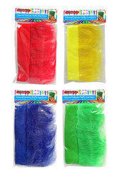 SC005 Fluffy Head Ban $1.90 plus GST Go team!!  Dress up on sports day and wear one of our brightly coloured fluffy head bands to support your team!  One size fits all.  Available in 4 colours: red, blue, green and yellow.  New product.