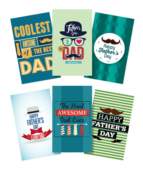 FD2020 FATHER'S DAY CARDS $0.45c plus GST  Tell Dad how much he means to you and write him a special message!  Card measures 11.5 x 19.3cm, comes with envelopes.  New designs.  Product Info: An assortment of father's day cards with envelopes.  6 designs.