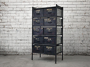Industrial Chic Storage Drawers