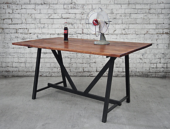 Industrial Style Furniture Melbourne Retro Dining Table