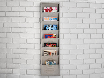 Retro Hanging Magazine Rack