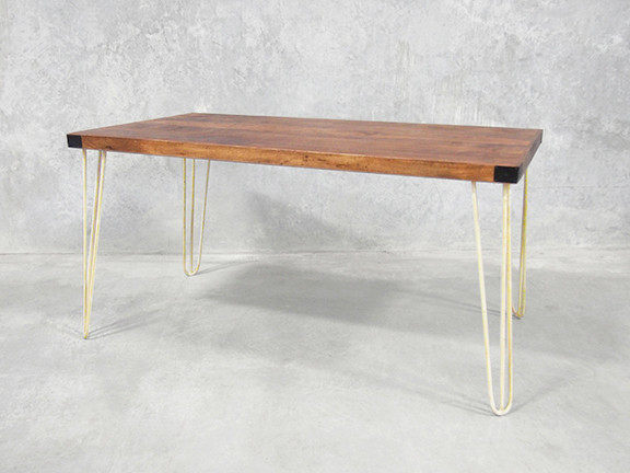 Hairpin Leg Dining Table Retro Kitchen Table 15 M Holy Funk