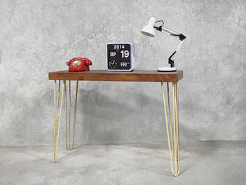Hairpin Console Table