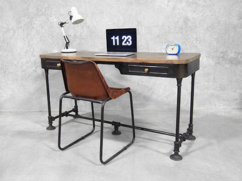 Attractive French Industrial Desk
