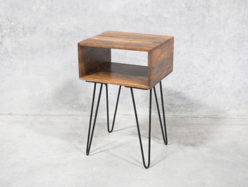 Hairpin Legs Bedside Table