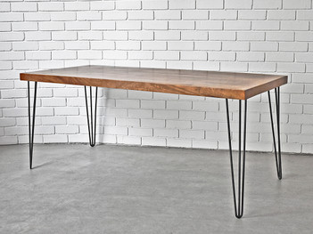 1.8m Hairpin Dining Table