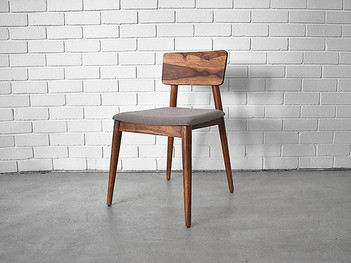 Scandinavian Cushioned Dining Chair