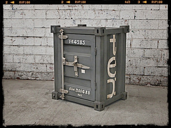 Industrial Furniture Container Table