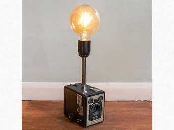 retro lighting. Vintage Kodak Camera Lamp Retro Lighting