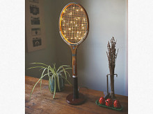Vintage Tennis Racket Light
