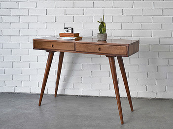 Wooden Nordic Console Table