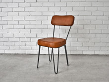 Hairpin Leather Chair