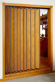 Accordion Door Room Divider Both Sides Finished