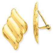 14k Non-pierced Fancy Earrings H643-Lex and Lu