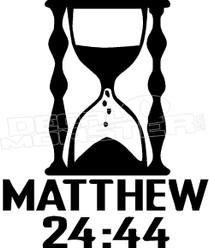 Matthew Biblical Quote 1 Religious Decal Sticker